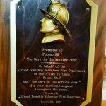 Stroud Township Volunteer Fire Dept Recognition
