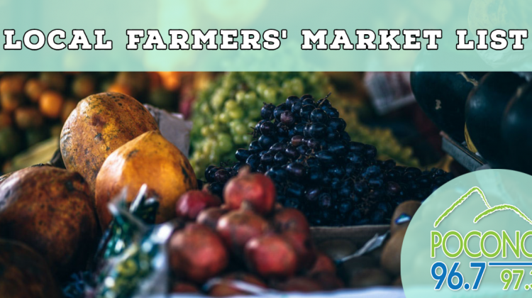Farmers' Market List