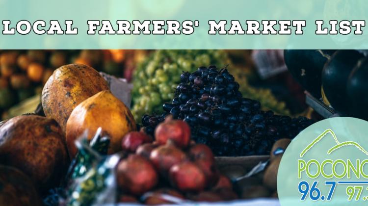 Farmers' Market List