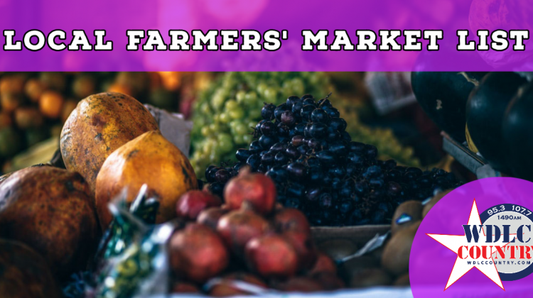 Local Farmers' Market List